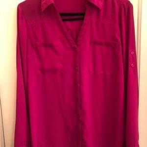 Express Portofino Shirt (sheer) med